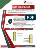 FICHA TECNICA CINTA ACUSTIK AMB V.1