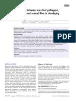 Interactions between intestinal pathogens