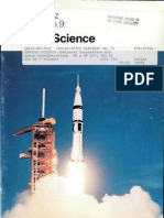 Apollo-Soyuz Pamphlet No. 9 General Science