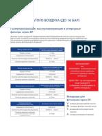 Airpol фильтры серии DF