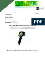 Rapport Utilisation camera thermique .pdf
