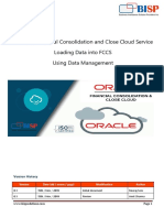 Oracle FCCS Data Load Using Data Management
