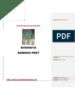Bukleet Budidaya Bawang Prey