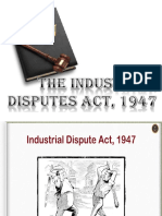 Industrial Dispute Act, 1947.pptx