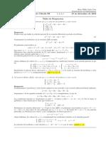 Corrección examen final de Cálculo III, 23 de diciembre de 2019 (tarde)