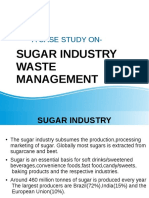 sugar industry case stdy fnl ppt