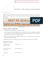 NEET-PG-2018-to-Be-Held-on-07th-January-2018