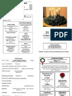 St Andrews Bulletin 122219 Fourth Advent