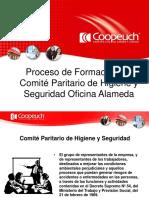 Proceso de Formación del Comité Paritario de Higiene y Seguridad Alameda