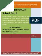 Social-Work-MCQS-Solved