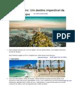 Rio De Janeiro_ Um destino imperdível