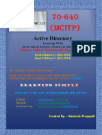 2. MCITP - 70-640 (Created By Kamlesh).pdf