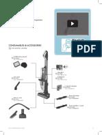 Manual Aspirator Vertical Multisuprafete Electrolux