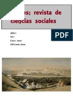 Segundo número Demos Ciencias Sociales