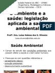 aula 4 - o ambiente, a saúde e legislação ambiental