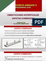 CLASE 17  ZAPATAS COMBINADAS REV 1