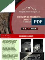 DIFUSION DE ACCIDENTE - CERRO LINDO