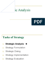 Strategic Analysis
