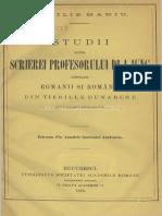 Studii asupra scrierei profesorului dr. I. Iung intitulată Romanii şi românii din tierille dunarene  studii istorico-ethnografice.pdf