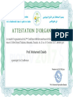 Attestation-Mohamed Chaib