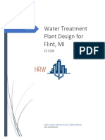 ce 5230 water treatment plant design