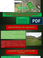 PROYECTO  CREACIÓN DEL CAMPO DEPORTIVO CON GRASS SINTÉTICO