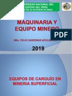 EQUIPOS DE CARGUÍO EN MINERÍA SUPRFICIAL