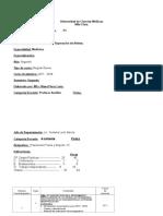 Plan Calendario (P-1)Curso2017-18Educación Física IVMedicina.