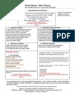 ORACIONES DE LA MAÑANA 2019-2020 LUCIA