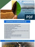 Sesion N°01 y 02_ABASTECIMIENTO DE AGUA POTABLE