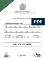 prova policia militar simulado - COM gabarito.pdf