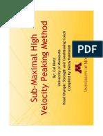 Sub Maximal High Velocity Peaking Presentation.pdf