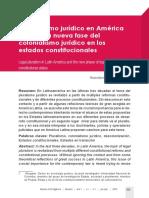SANTAMARIA, Rosembert Ariza. El pluralismo jurídico en América Latina y la nueva fase del colonialismo Jurídico en los estados constitucionales