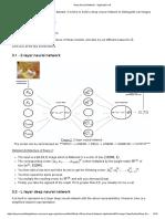 Deep Neural Network - Application 2layer