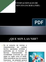 NORMAS INTERNACIONALES DE INFORMACION FINANCIERA (NIIF) (1)