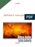 DASR66Module10AviationLegislationMakeuptraining