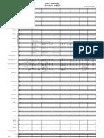 1812 Overture Score