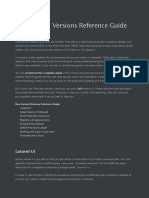 New-Laravel-Versions-Reference-Guide
