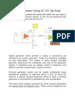 Function Generator Using IC 741 Op.pdf