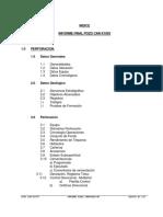 Informe Final de Perforacion CAR-X1003