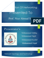 Presentation of Networking-1