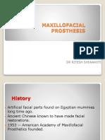 introduction of maxiloprosthodontics