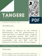 Noli Me Tangere Controversy