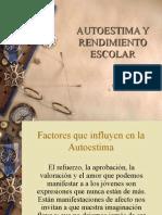 AUTOESTIMA Y RENDIMIENTO ESCOLAR