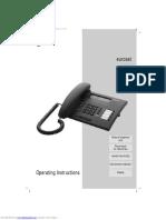 Euroset 825 User Manual