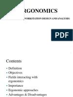 Ergonomics and Universal Design Principles