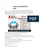 Strategies to Score good in IELTS Speaking Exam - IELTS Oracle