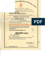 B.E. Degree Certificates