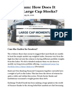Momentum- How Does It Look In Large Cap Stocks? » Capitalmind - Better Investing