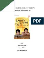 PSIKOLOGI Analisis Film Taare Zameen Par
